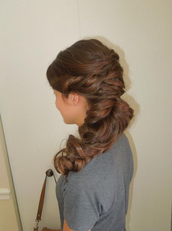 Formal hair, wedding hair, up do or prom updo