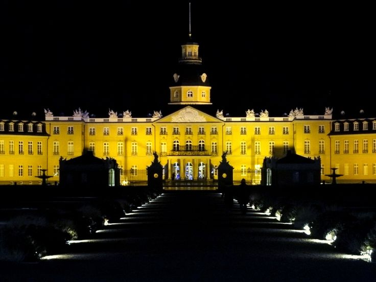 Cool The Karlsruhe Palace Karlsruher Schloss was built by Margrave Charles III William of Baden