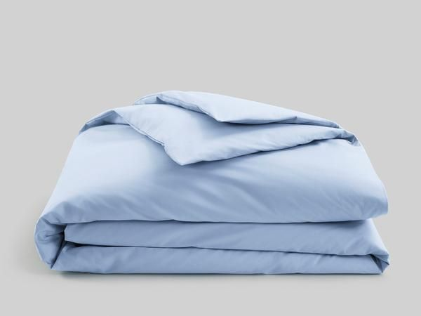 A Duvet Cover in our perfect cotton percale. Pair with a Brooklinen Down comforter to turn your bed into a cloud of comfort.