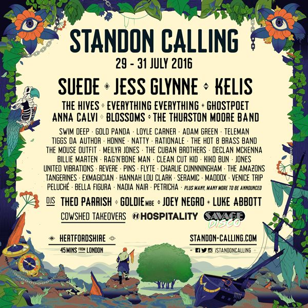 Standon Calling 2016 first wave