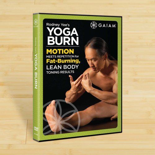 Gaiam Yoga Burn DVD with Rodney Yee — Incredibly effective yoga routine that will make you sweat!