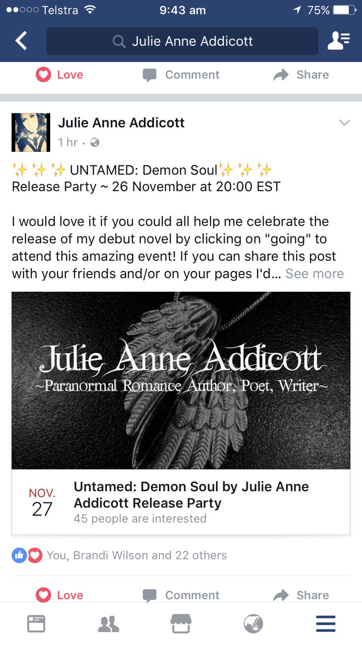 Do you want to attend the release part for my debut novel? Head over to Facebook to join. #releaseparty #newrelease #novel #author #julieanneaddicott #untamed #demonsoul #books #book #writer #comingsoon #debut #authors #jointheparty