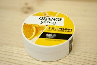 ORANGE et YLANG - crème pour le corps bio - oragnic body cream