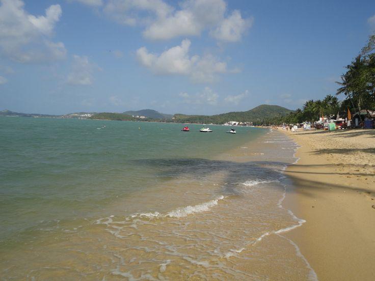 Bophut Beach, Koh Samui, Thailand. Photo: Pat Hinsley