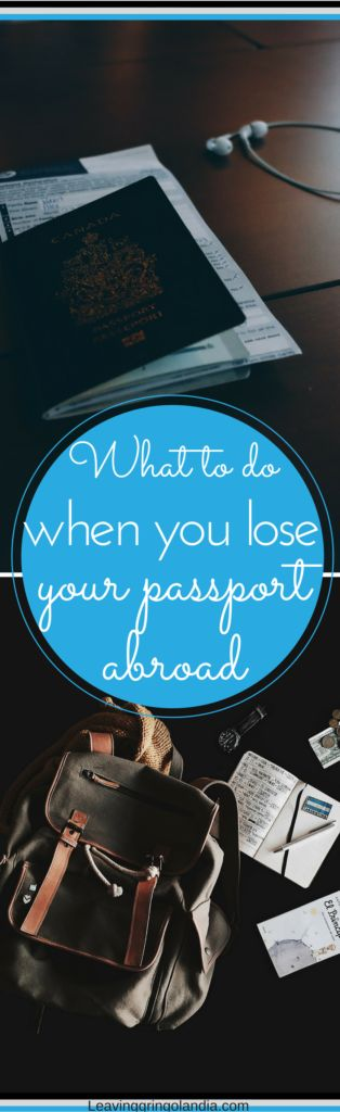 So you lost your passport...now what? While losing your passport can seem like a really stressful situation, it's not the end of the world. I lost my passport in Buenos Aires and here I share my experience with you to make a terrible situation a little easier!