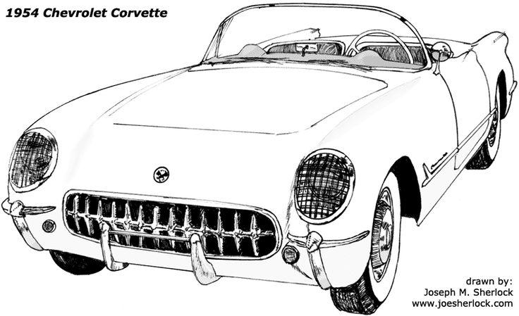 191 best images about 54 corvette on pinterest