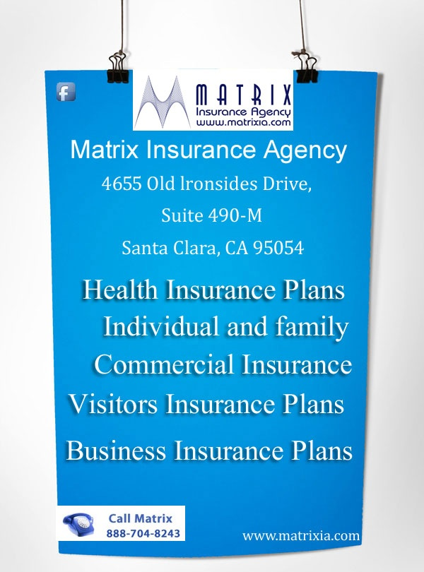 Health insurance plans, quotes for individual, family and group are available here at very affordable prices. Call 888-704-8243 for buying health insurance in California or visit here http://www.matrixia.com