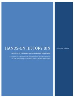 Oneida History Bin for Teachers and Home school 3rd-4th grade-ish. It has fun activities too. Free Download!