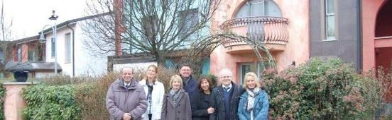 Il presidente della Provincia di Enzkreis (Germania), gemellata con la provincia di Reggio Emilia, e il presidente della cooperativa edile Arlinger di Pforzheim hanno incontrato il 21 febbraio i presidenti delle coop di abitanti La Betulla e Andria