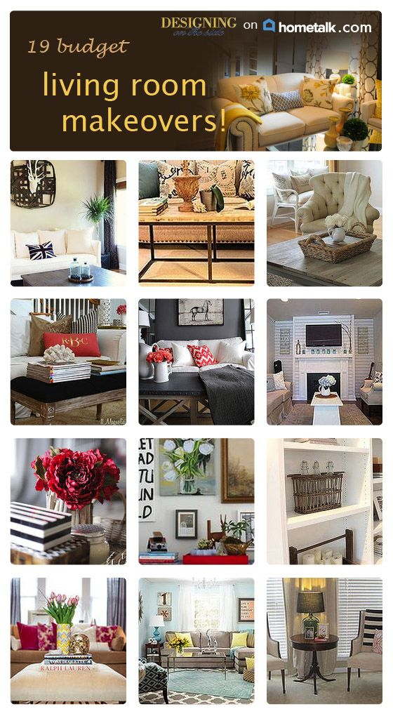 Beautiful living room makeovers on a budget living room ideas pinterest beautiful blue - Living room makeover on a budget ...