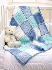 Double Up: 2 Stranded Baby Blankets | Yarn | Free Knitting Patterns | Crochet Patterns | Yarnspirations
