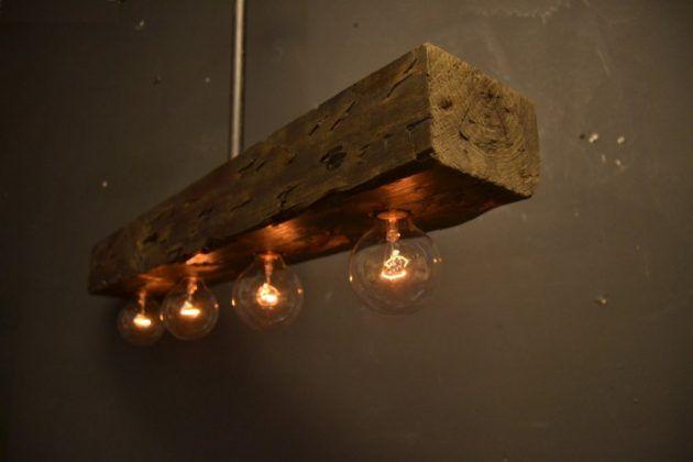 16 Fascinant bois Lampe Designs bricolage pour pimenter votre espace de vie
