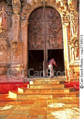Temple de San Diego, Mexico.