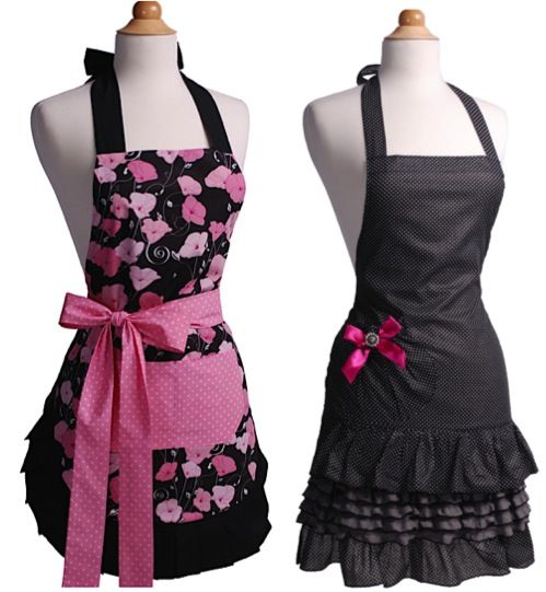 I've been asking for an apron forever, thinking at 40% off I'll buy one and get Madi one too!!!! Flirty Aprons Sale = 40% off!