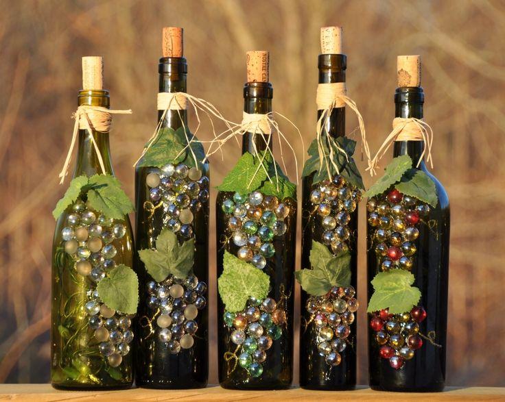25 great ideas about wine bottles on pinterest wine for Cool wine bottle ideas