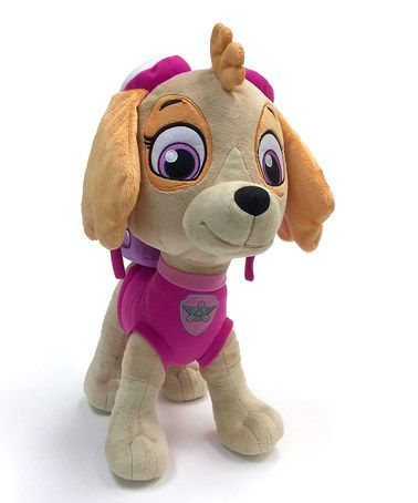Another great find on #zulily! PAW Patrol Skye Cuddle Pillow Plush Toy #zulilyfinds