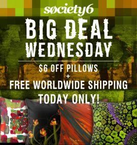 Big Deal Wednesday - Only a few hours left!  http://society6.com/marinakanavaki?promo=d3d65c