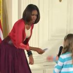 Young Girl Stuns Michelle Obama With Jobless Dadu0027s Resume At White House  Event. Nice Picture