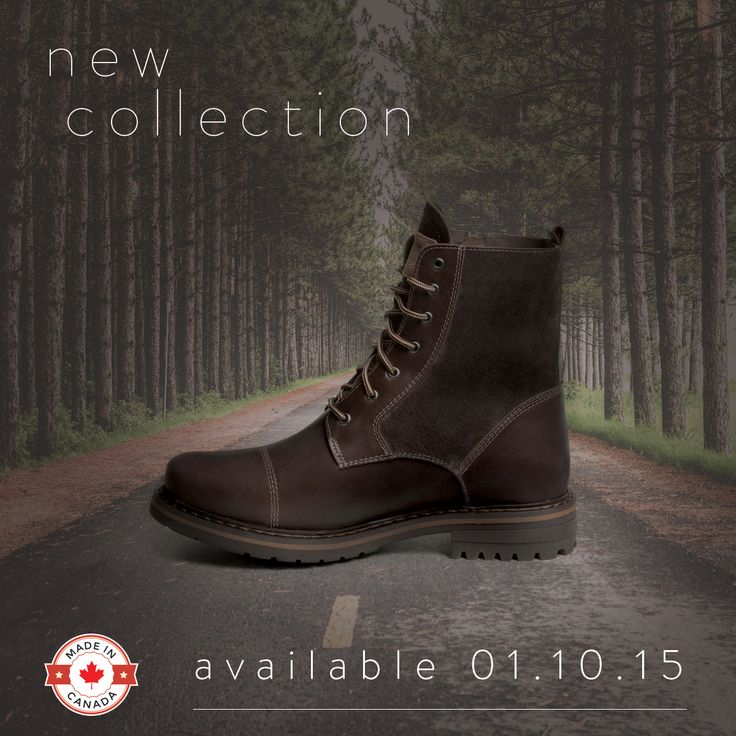 New collection available on October 1rst! #Boots #AnfibioBoots