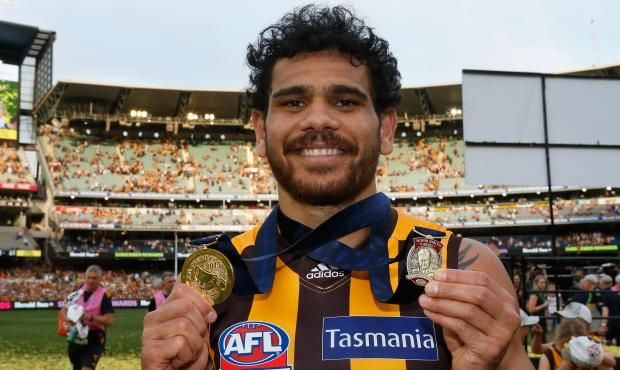 Rioli wins Norm Smith Medal - 2015.