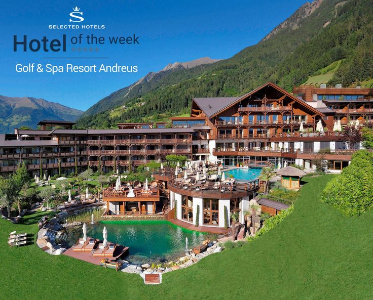 #Golf & #Spa #Resort Andreus im #Passeiertal bei #Meran