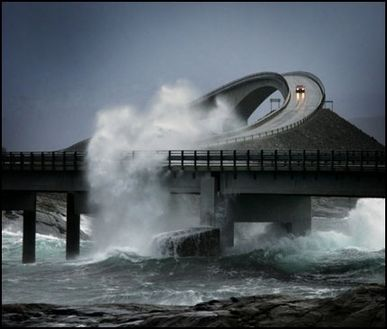 Atlantic Highway, Norway