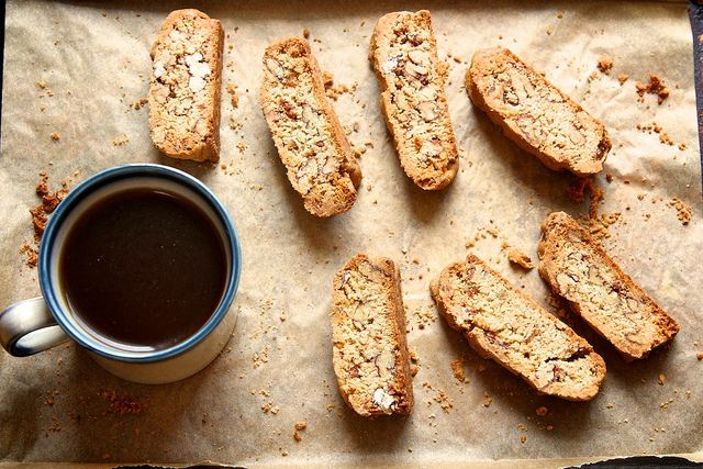 Candied Pecan Biscotti by Joy the Baker