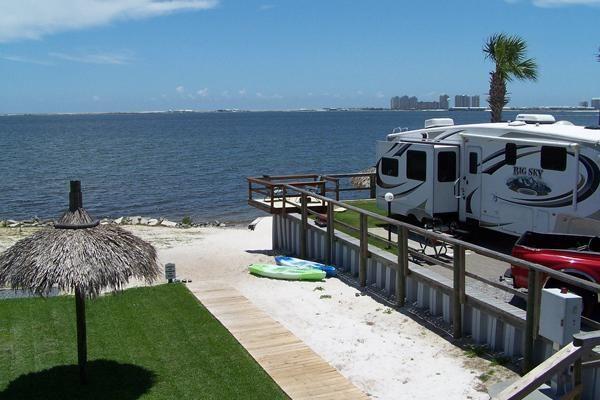 Emerald Beach RV Park     Best RV Parks in Florida #RVescape #RVing