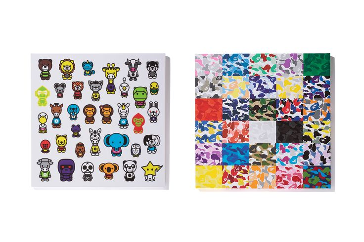 "A Bathing Ape 2012 ""BAPE SHOP CAMO CANVAS"" & ""MILO A to Z CANVAS."""