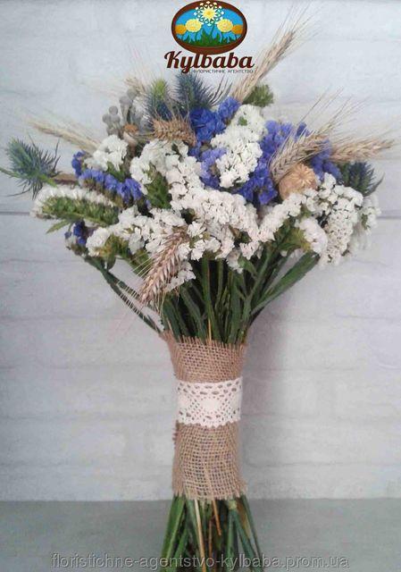 Букет невесты в стиле рустик, фото 1