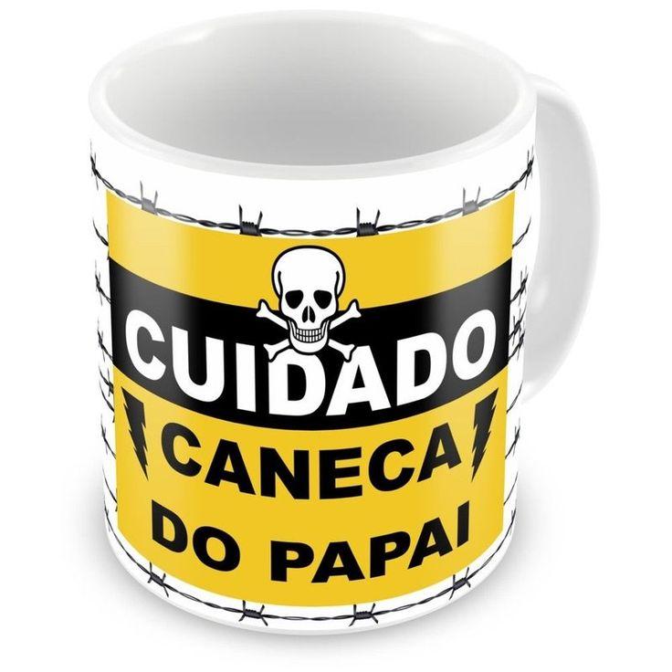 Caneca Personalizada Arame Farpado Caneca do Papai - ArtePress - Brindes em Almofadas, Canecas, Copos, Squeeze
