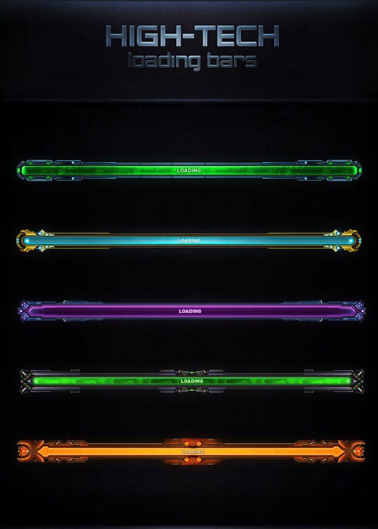 High-Tech Loading Bars by VengeanceMK1
