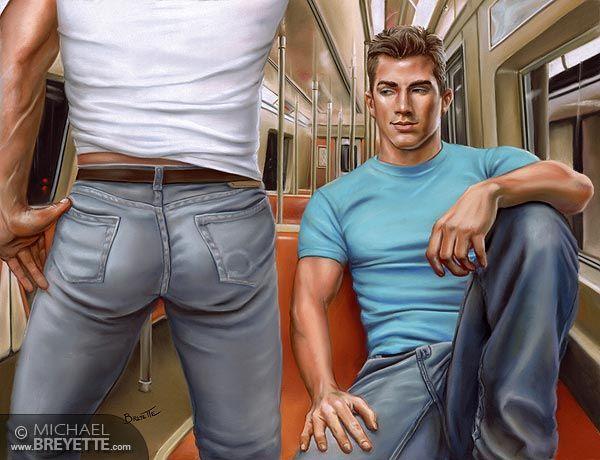 Gay sex film subway suspicious package hot 10
