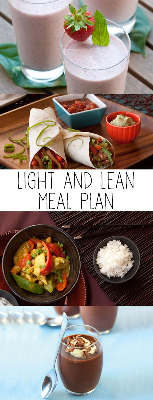 Epicure's Light and Lean Meal Plan