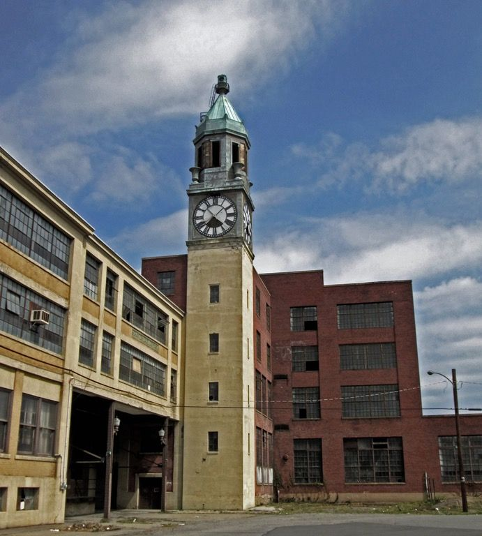 Scranton Lace Factory, Pennsylvania, [OC] [2448 X 2720