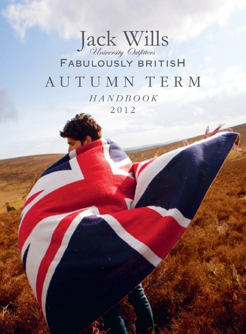 #JackWills Autumn 2012 handbook - Fabulously British!