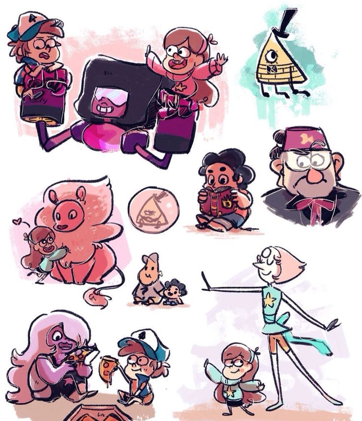 I think of this happened everyone would be kind of chill but Garnet...Garnet would GO BATSHIT CRAZY over Mabel.
