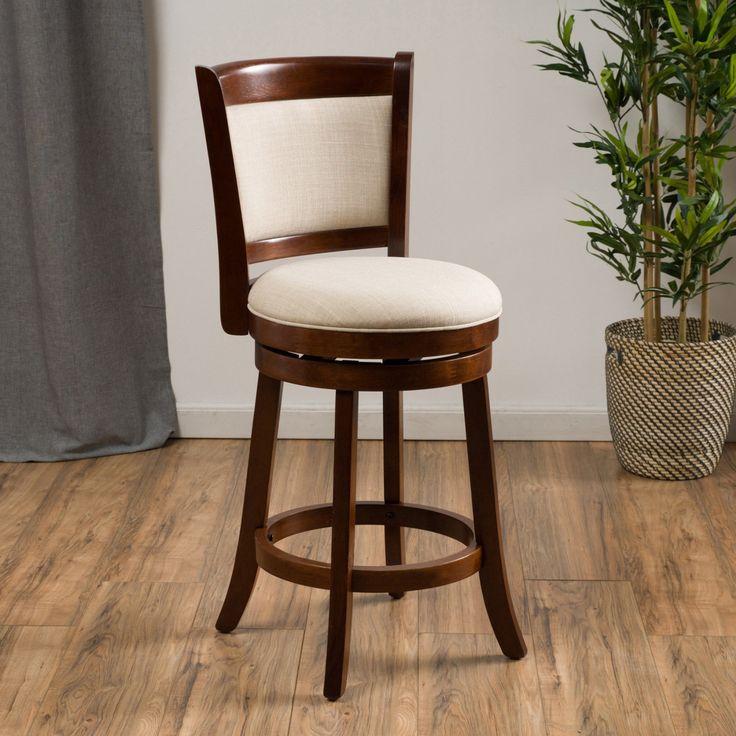 best selling home bryan 25 in fabric swivel bar stool