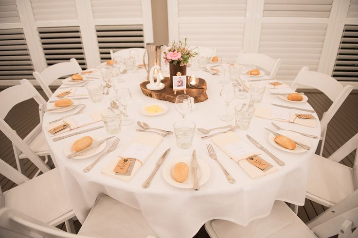 Mercure Townsville - Plantation Deck - Wedding Reception - White - Rustic - Flowers - Romantic   - Lighting - Perfectly Styled