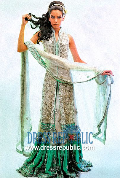 Alicia Gharara, Product code: DR1476, by www.dressrepublic.com - Keywords: Shalwar Kameez North Carolina, South Carolina, Salwar Kameez Shops