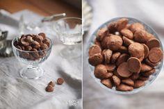 Кофейно-шоколадные мини меренги