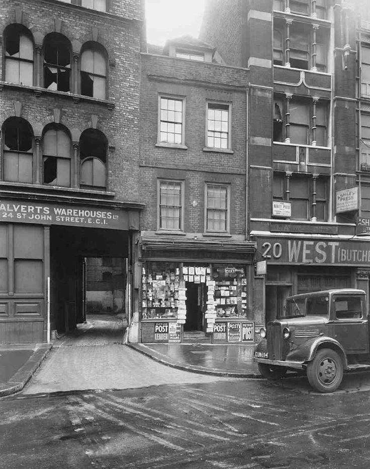 No. 22 St John Street in 1946