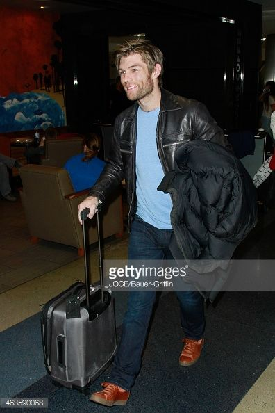 News Photo : Liam McIntyre is seen at LAX on February 15, 2015...