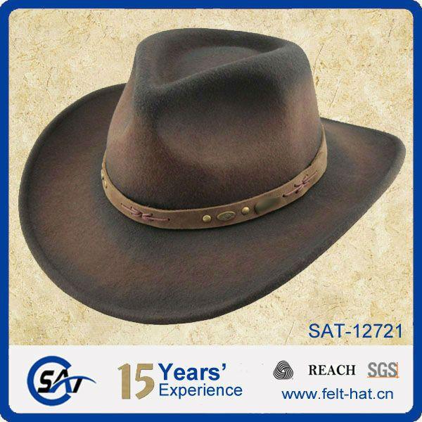 100% Australia Wool stetson hat, cowboy hat, winter hat $4.5~$6.5