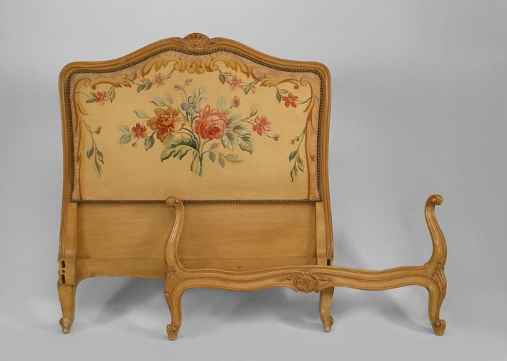Perfect French Louis XV Bed Single Size Walnut · Dollhouse FurnitureMiniature  FurniturePainted BedsHand ... Nice Ideas