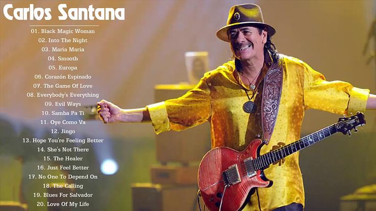 Carlos Santana Greatest Hits Full Album Live Collection 2017 - The Very ...