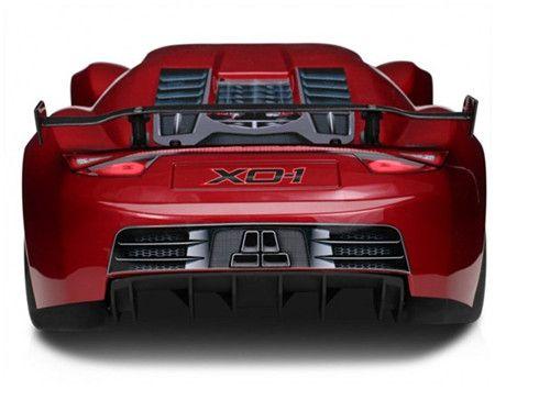 Special Four-wheel Drive Traxxas X0-1 RC Car