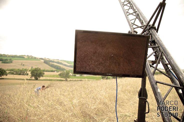 Shooting nel grano per Pasta Mancini #pasta #pastamancini #marcopoderistudio #backstage #video
