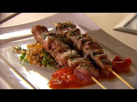 Recept 'Lamskebabspiesjes met couscous' | njam!