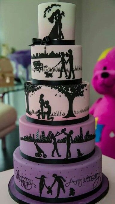 silhouette wedding cakes ideas 50 best images about cake silhouette on 19823
